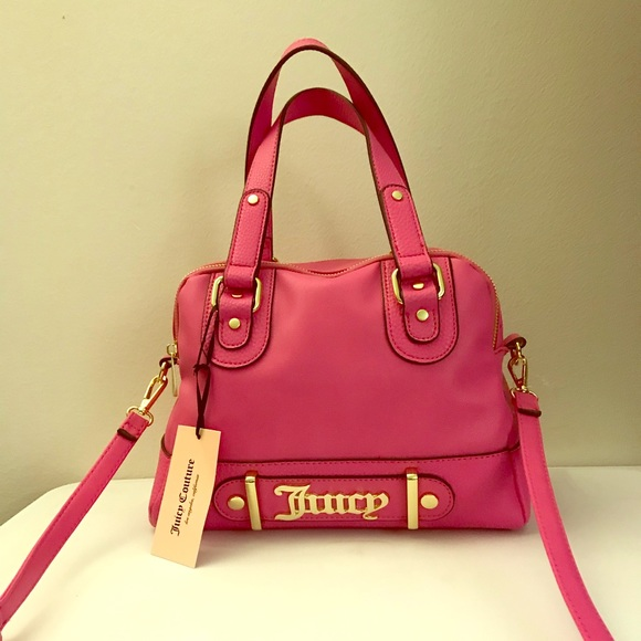 1763c4f1f2 Flamingo pink juicy couture handbag satchel